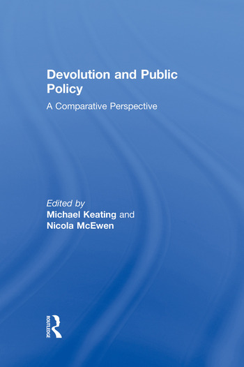 Devolution and Public Policy book cover