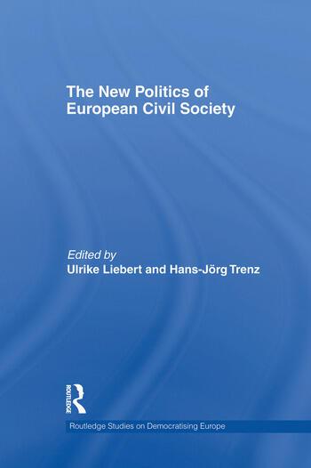 The New Politics of European Civil Society book cover