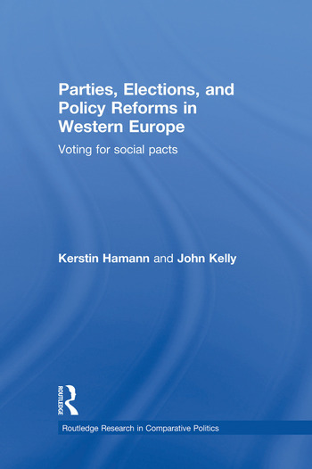 Parties, Elections, and Policy Reforms in Western Europe Voting for Social Pacts book cover