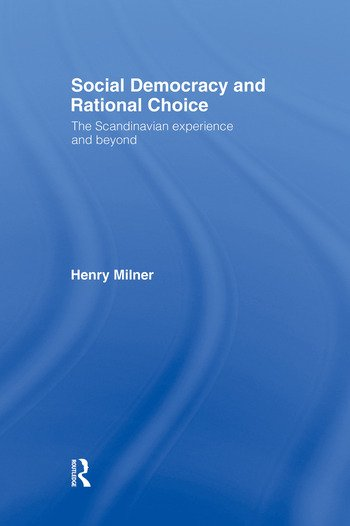 Social Democracy and Rational Choice book cover