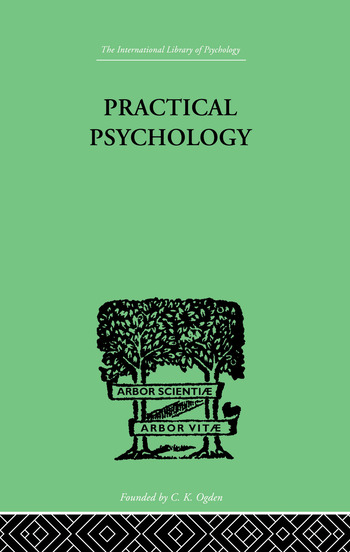 Practical Psychology FOR STUDENTS OF EDUCATION book cover