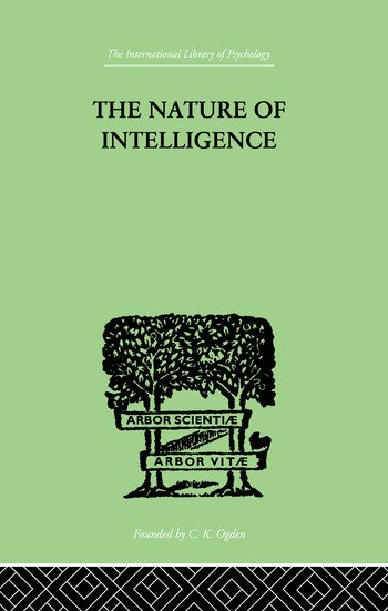 The Nature of Intelligence book cover