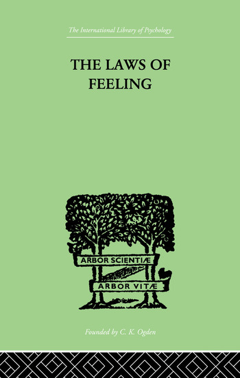 The Laws Of Feeling book cover