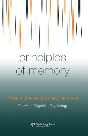 Principles of Memory book cover