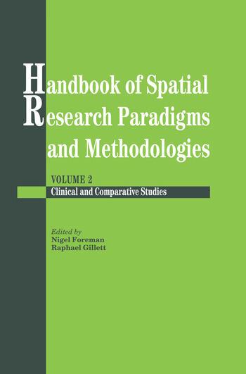 Handbook Of Spatial Research Paradigms And Methodologies book cover