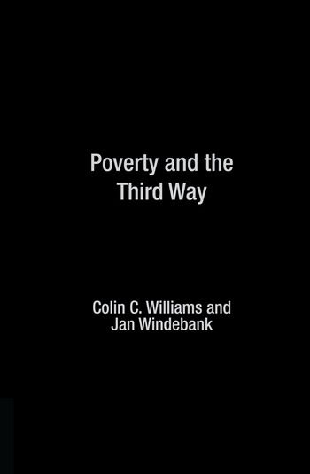 Poverty and the Third Way book cover