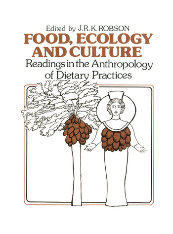 Food, Ecology and Culture Readings in the Anthropology of Dietary Practices book cover