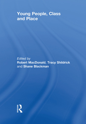 Young People, Class and Place book cover