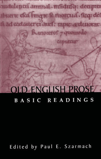Old English Prose Basic Readings book cover