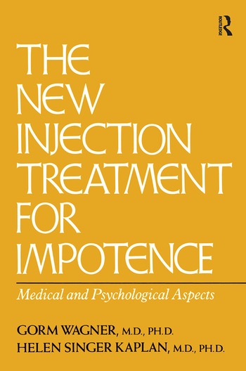 The New Injection Treatment For Impotence Medical And Psychological Aspects book cover