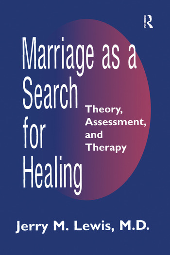 Marriage A Search For Healing book cover