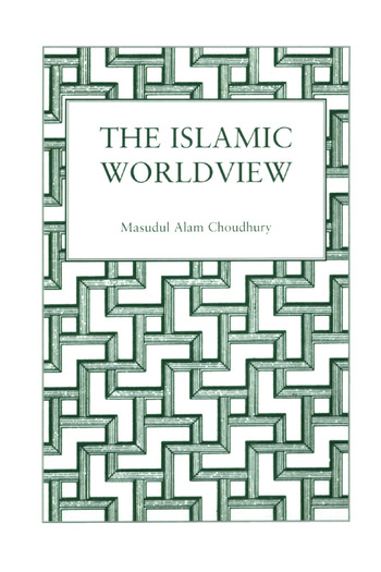 Islamic World View book cover