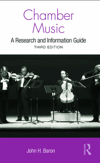 Chamber Music A Research and Information Guide book cover