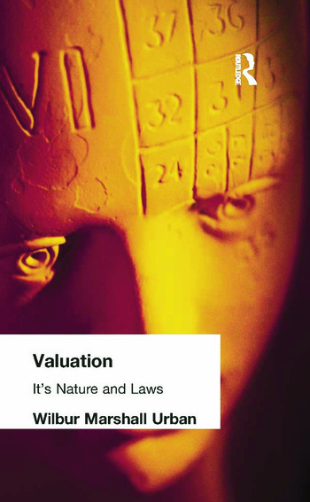 Valuation Its Nature and Laws book cover