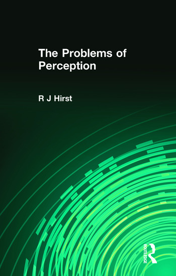 The Problems of Perception book cover