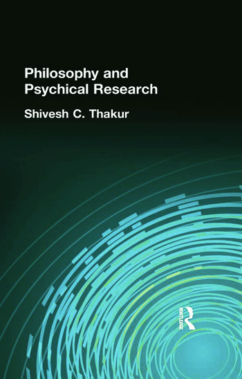 Philosophy and Psychical Research book cover