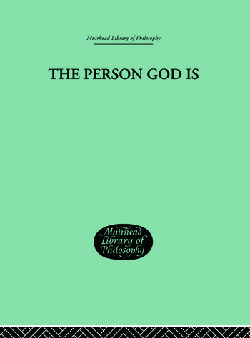 The Person God Is book cover