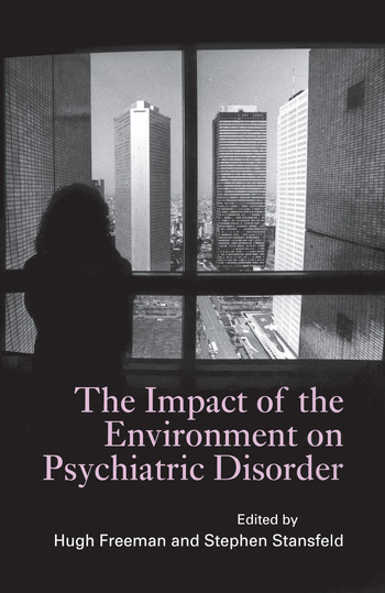 The Impact of the Environment on Psychiatric Disorder book cover
