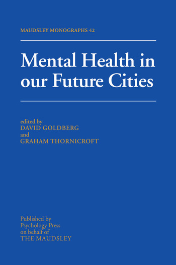 Mental Health In Our Future Cities book cover