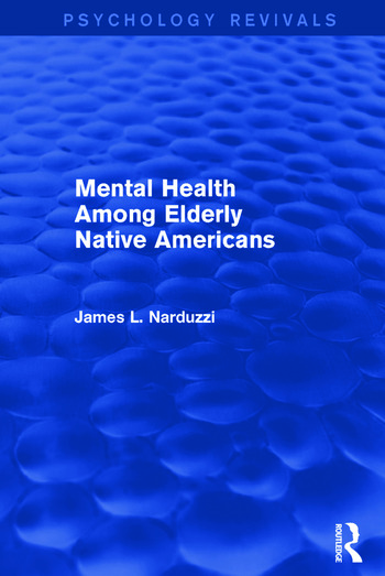 Mental Health Among Elderly Native Americans book cover