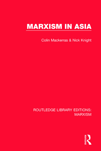 Marxism in Asia book cover