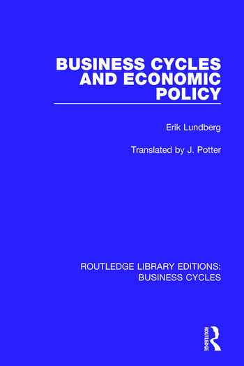 Business Cycles and Economic Policy (RLE: Business Cycles) book cover