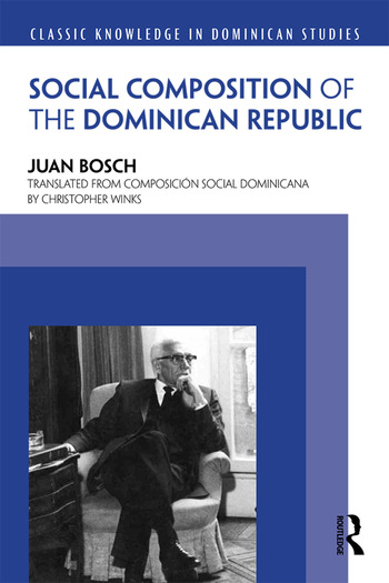 Social Composition of the Dominican Republic book cover
