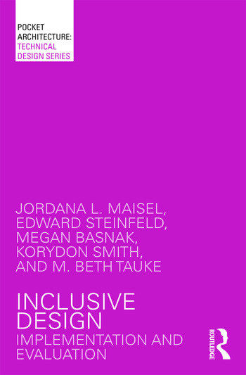 Inclusive Design Implementation and Evaluation book cover