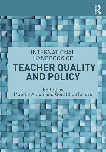 International Handbook of Teacher Quality and Policy book cover