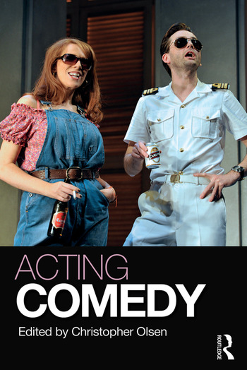 Acting Comedy book cover