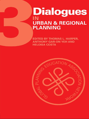 Dialogues in Urban and Regional Planning Volume 3 book cover
