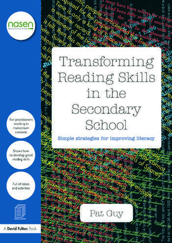Transforming Reading Skills in the Secondary School Simple strategies for improving literacy book cover