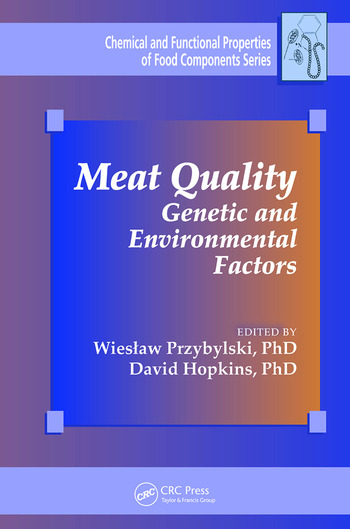 Meat Quality Genetic and Environmental Factors book cover