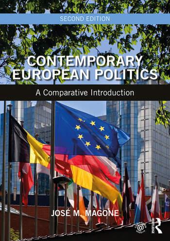 Contemporary European Politics A Comparative Introduction book cover