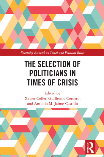 The Selection of Politicians in Times of Crisis book cover