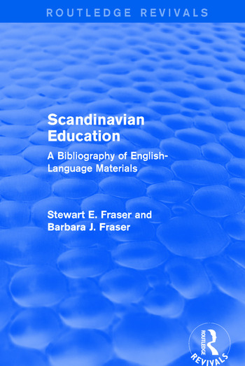 Scandinavian Education A Bibliography of english- language materials book cover
