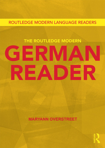 The Routledge Modern German Reader book cover