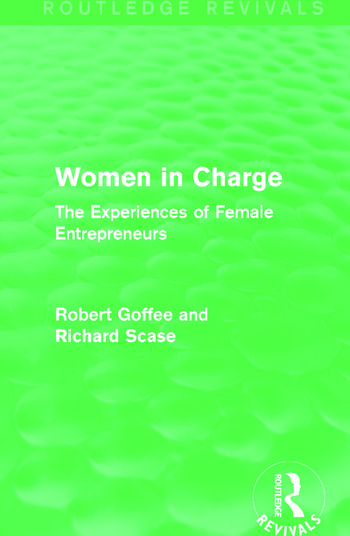 Women in Charge (Routledge Revivals) The Experiences of Female Entrepreneurs book cover