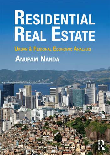Residential Real Estate Urban & Regional Economic Analysis book cover