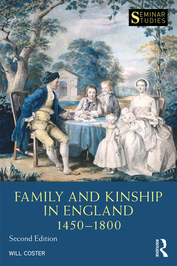 Family and Kinship in England 1450-1800 book cover