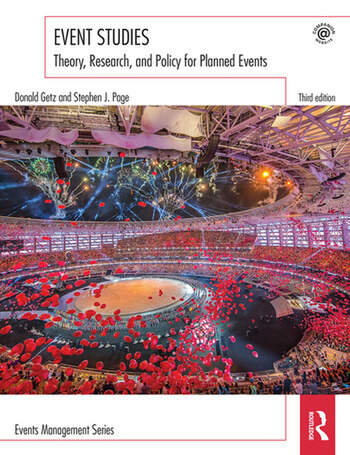 Event Studies Theory, research and policy for planned events book cover