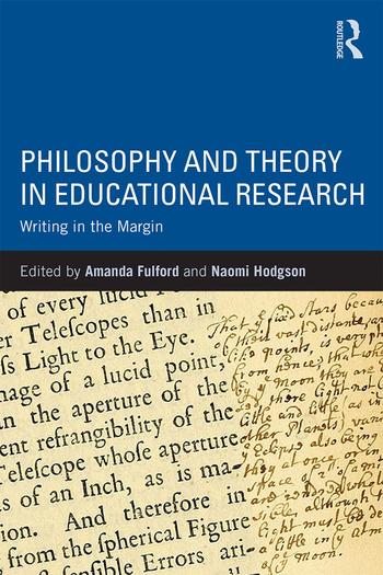 Philosophy and Theory in Educational Research Writing in the margin book cover