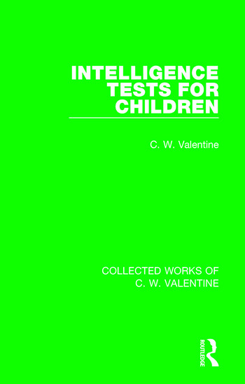 Intelligence Tests for Children book cover