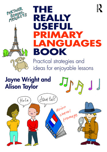 The Really Useful Primary Languages Book Practical strategies and ideas for enjoyable lessons book cover