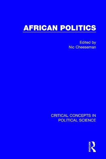 African Politics (4-vol. set) book cover
