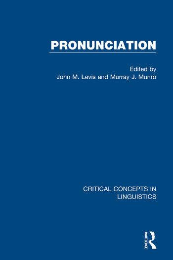 Pronunciation book cover