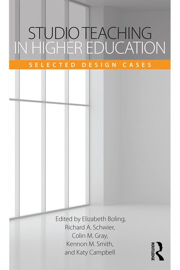 Studio Teaching in Higher Education Selected Design Cases book cover
