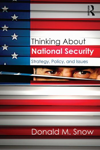 Thinking About National Security Strategy, Policy, and Issues book cover