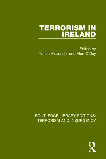 Terrorism in Ireland (RLE: Terrorism & Insurgency) book cover