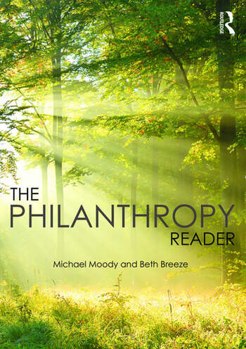 The Philanthropy Reader book cover